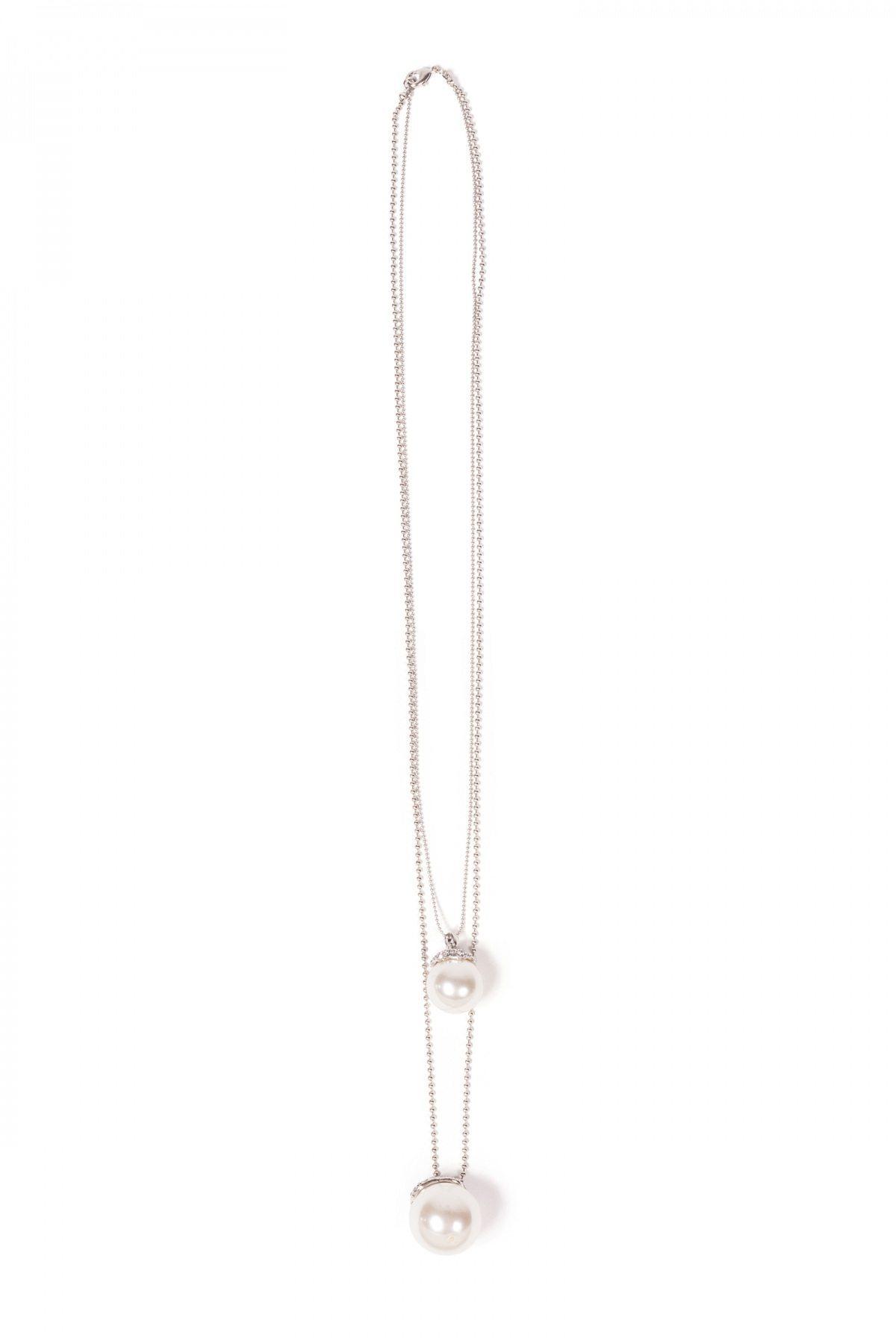 Colier EXCOL4161 Argintiu