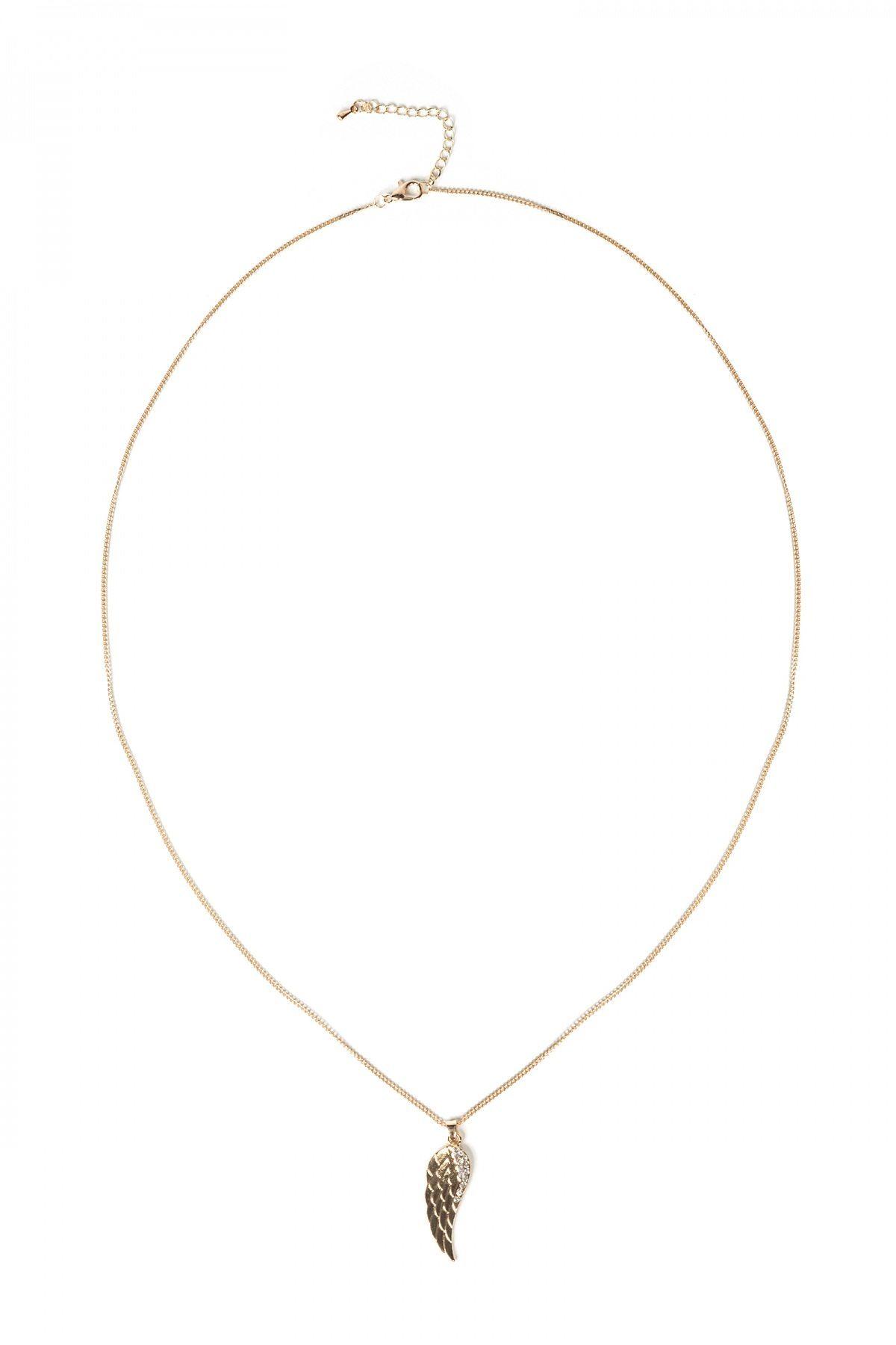 Colier auriu cu aripa Auriu