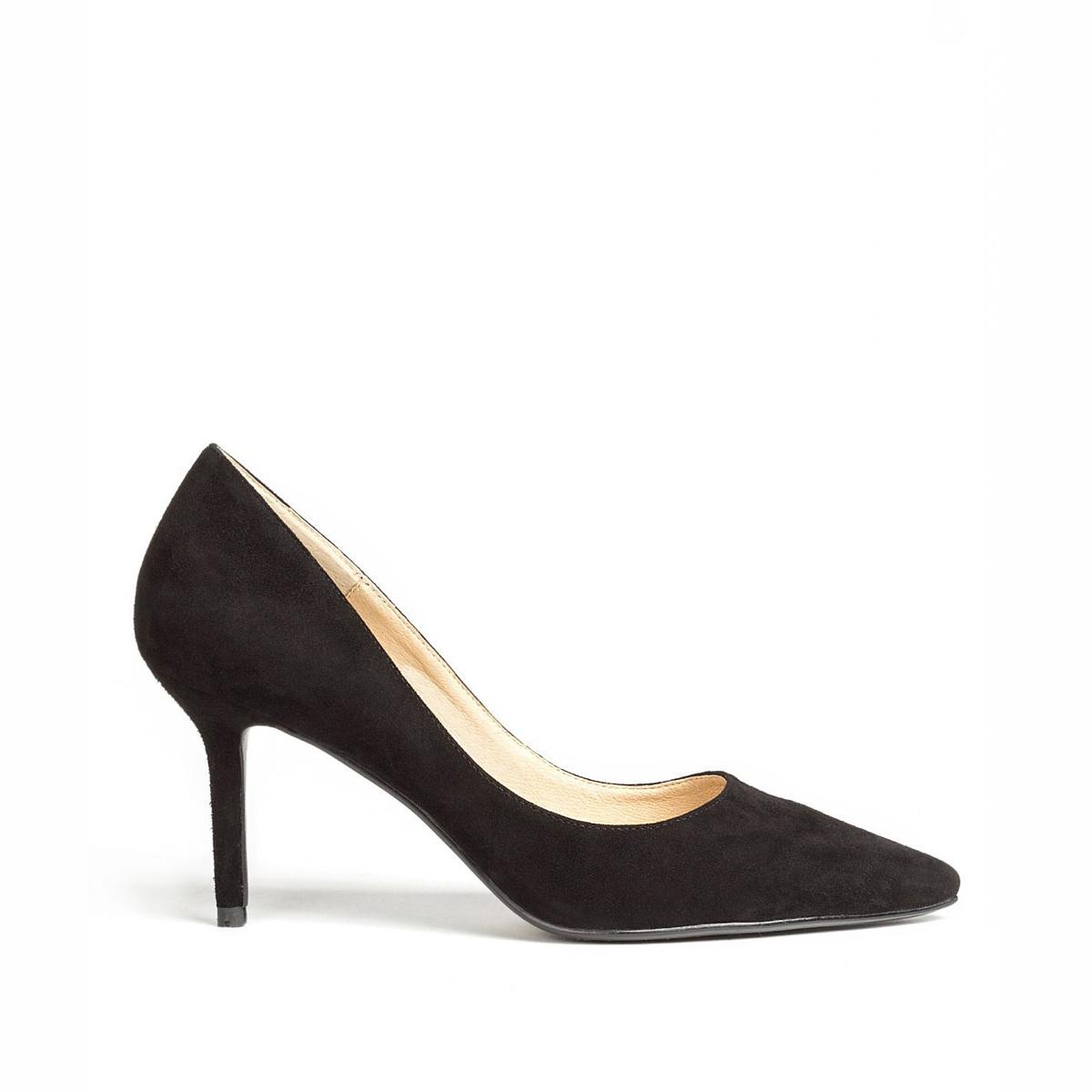 Pantofi negri stiletto Negru