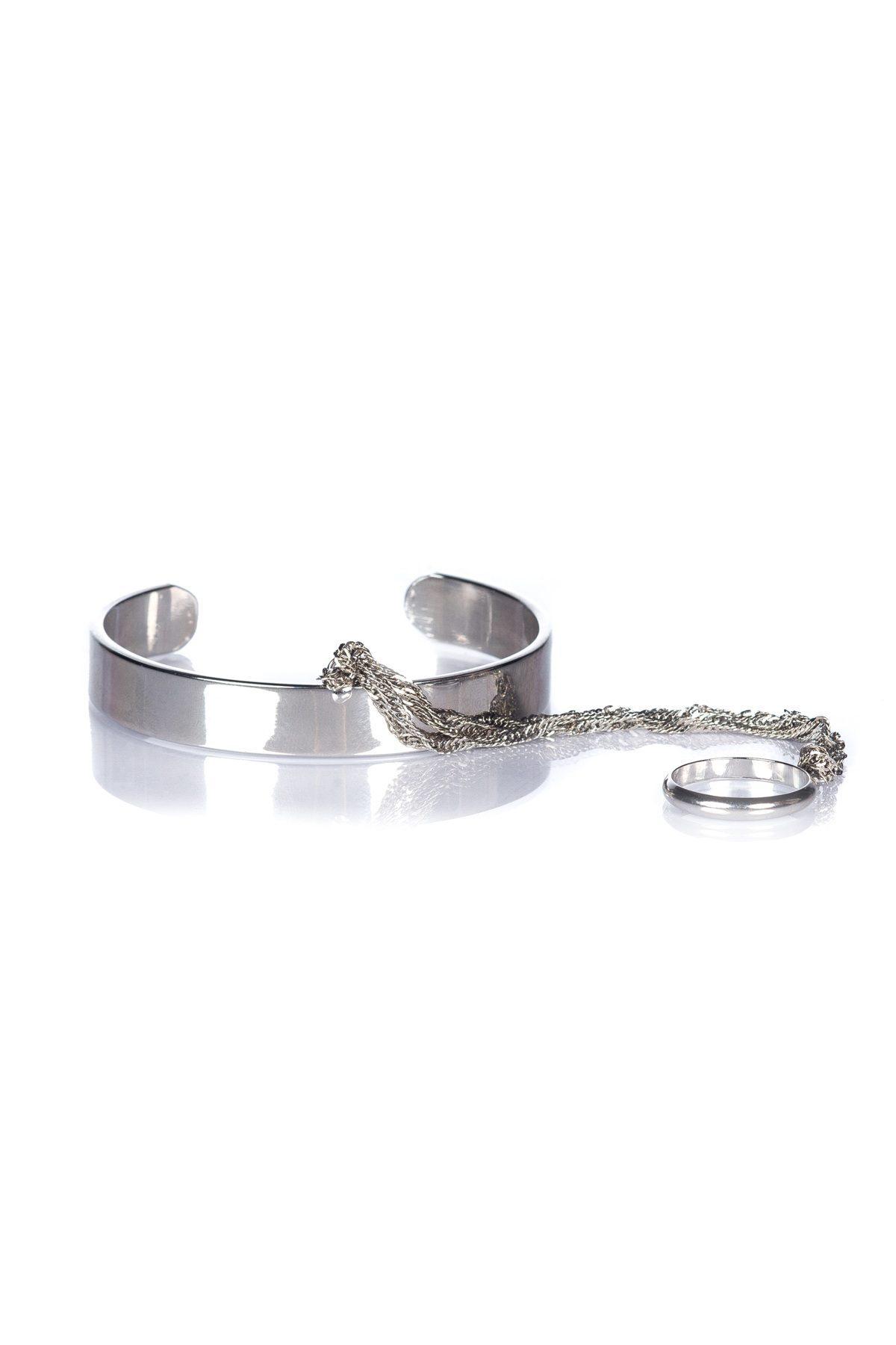 Bratara EXBR236 Argintiu