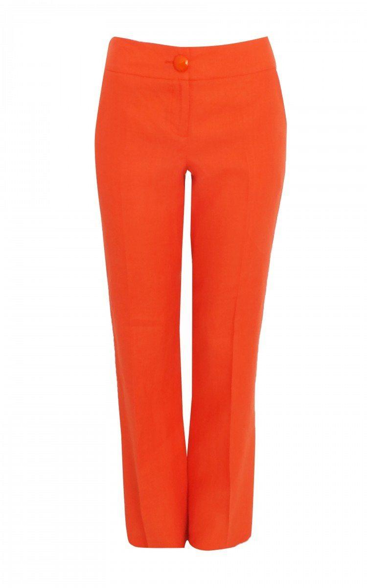 Pantalon P5122 Portocaliu