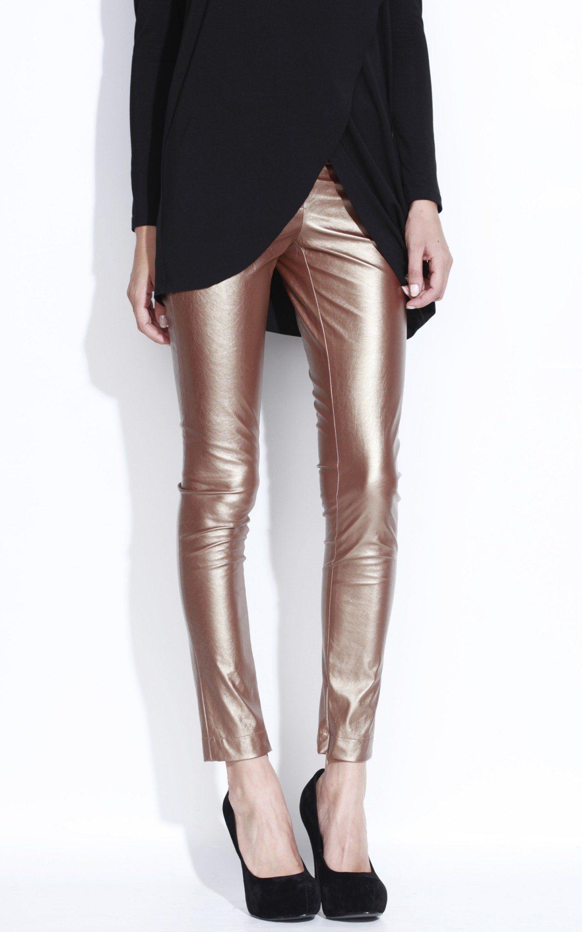 Pantalon P5339 Auriu