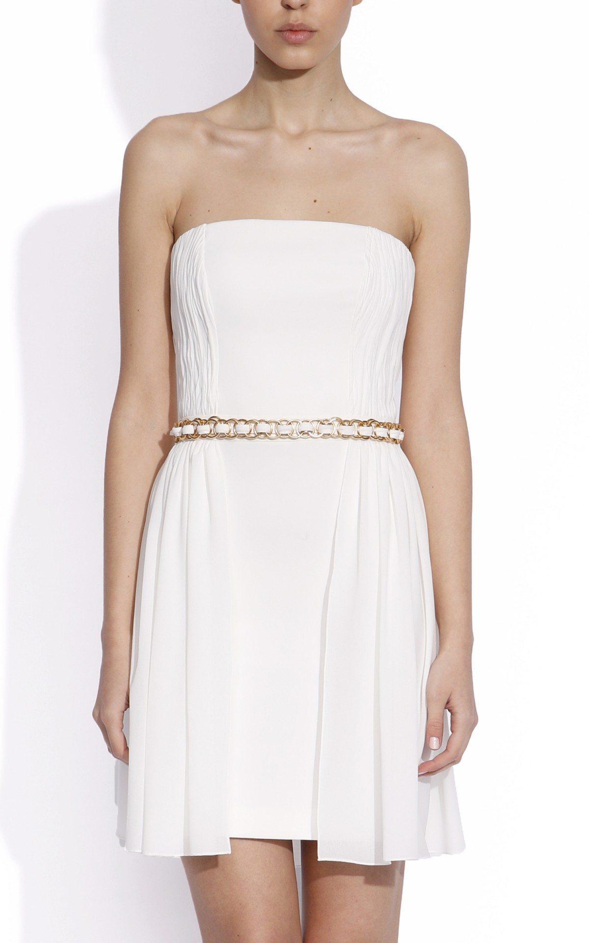 Rochie ampla cu corset Crem