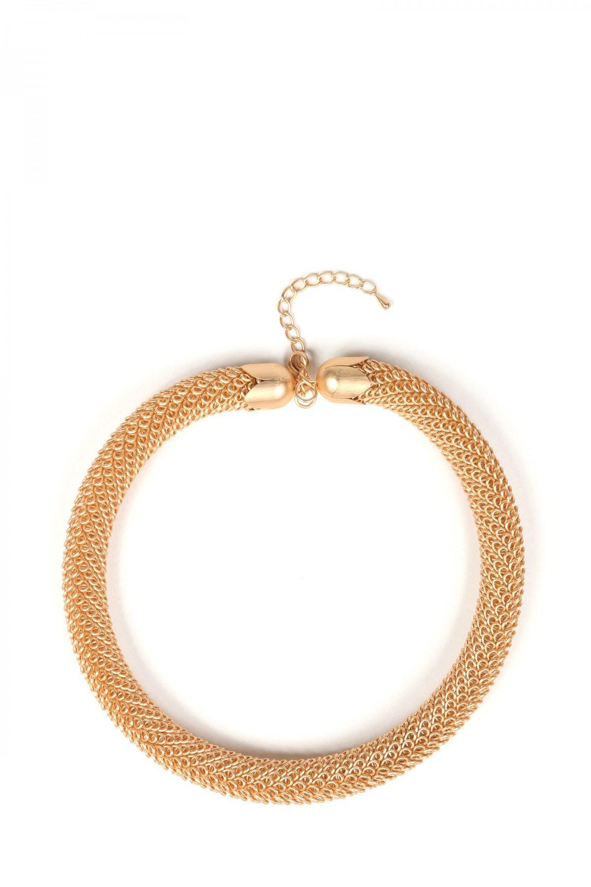 Colier auriu elegant Auriu