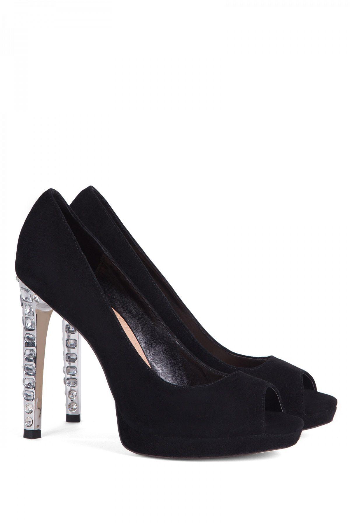 Pantofi Cu Toc Expa11 Negru