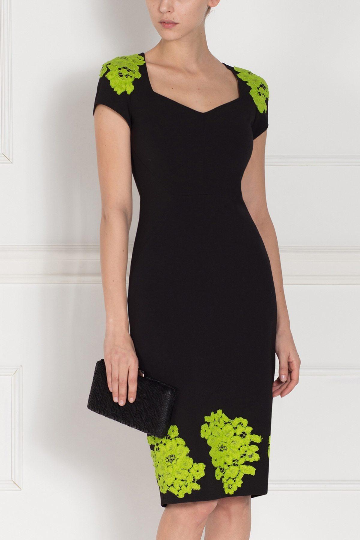 Rochie de zi neagra Negru