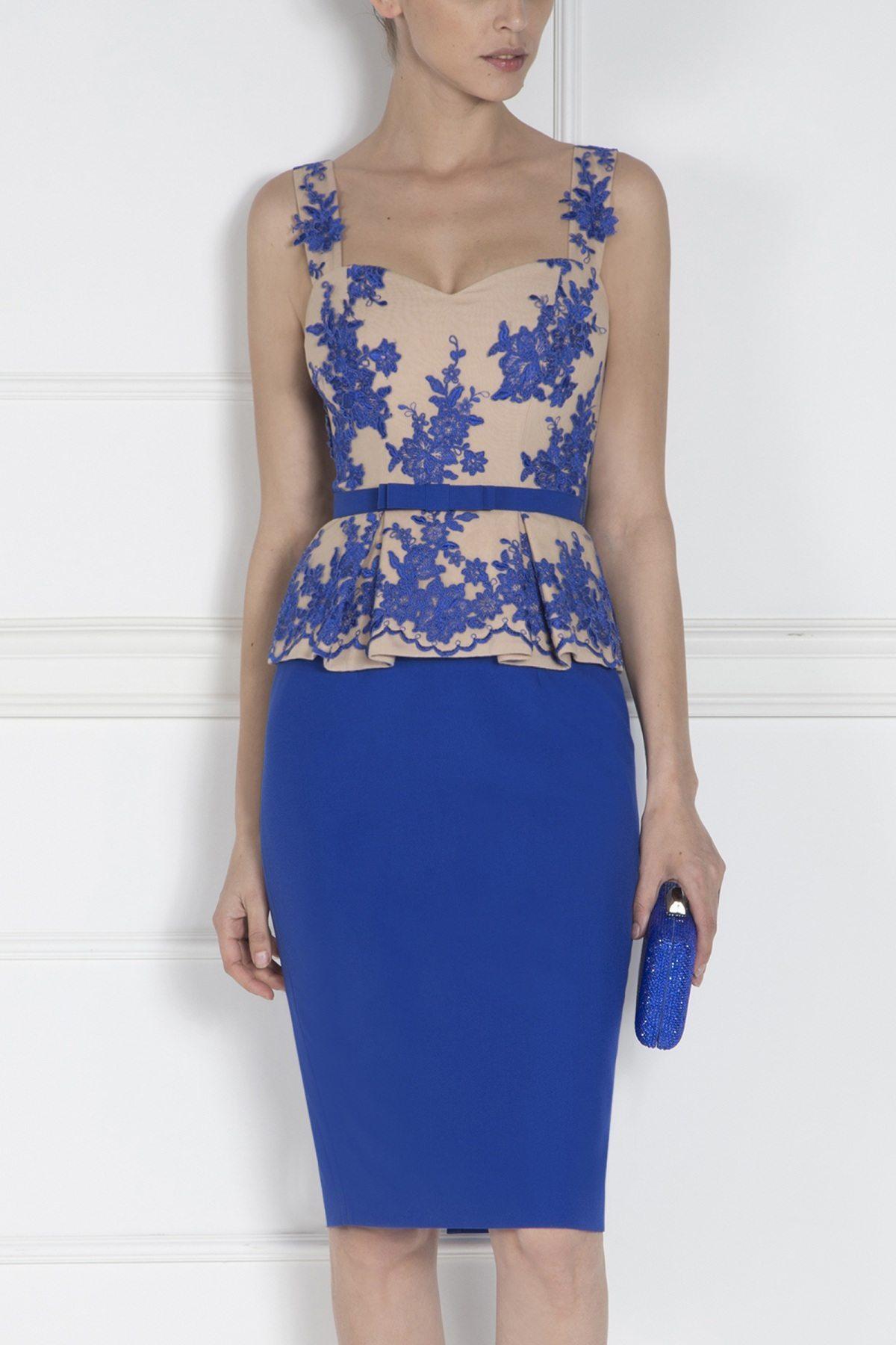 Rochie de seara albastra Albastru