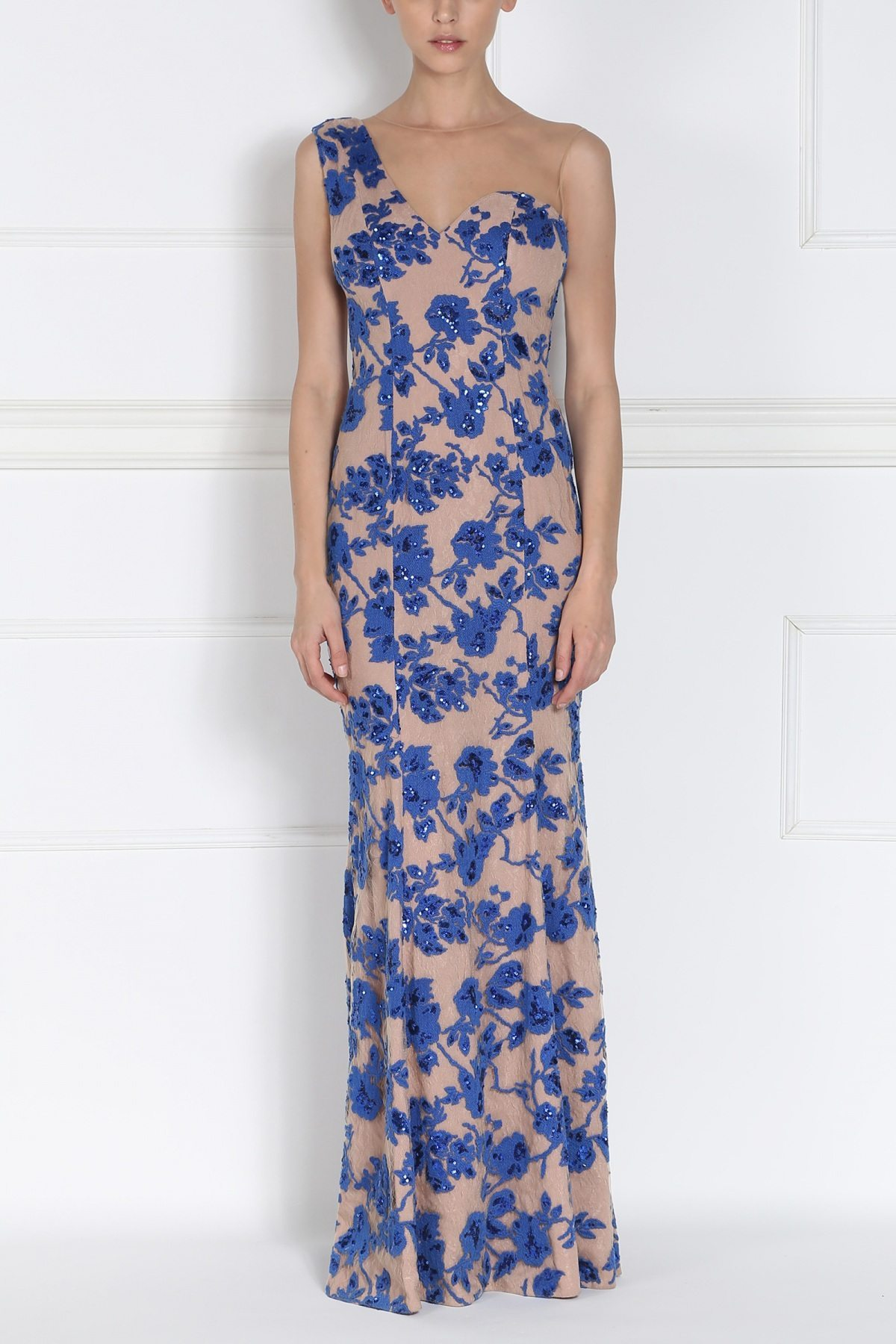 Rochie de seara cu paiete Albastru