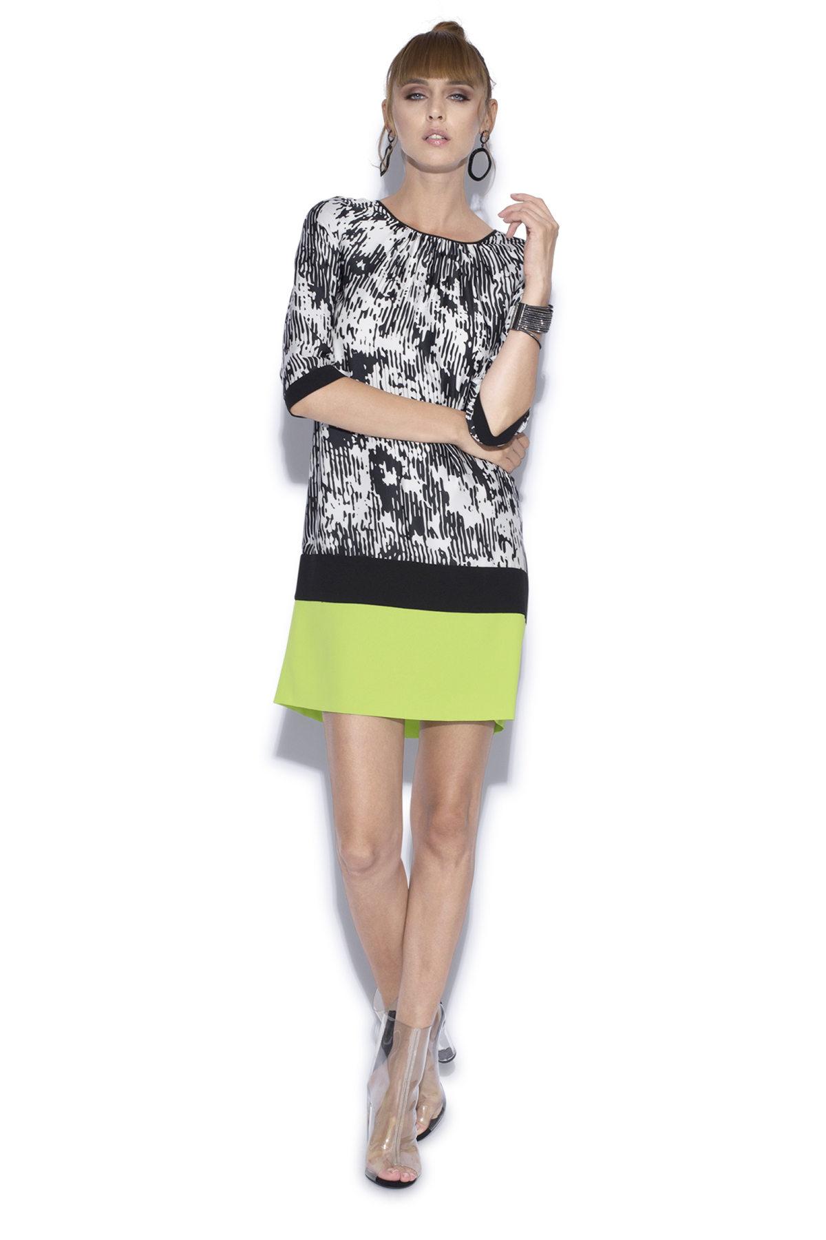 Rochie de zi cu imprimeu Print